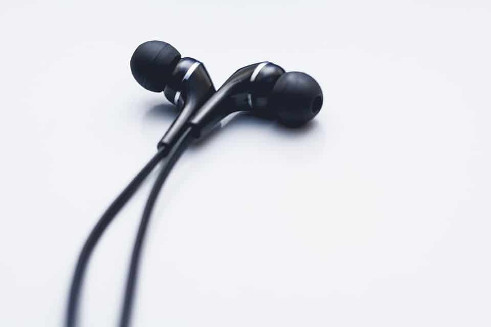 cool black earbuds
